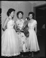 Miss National Japanese-American Citizens League and attendants