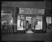 Japanese American Citizens' League as Anti-Axis Committee Headquarters