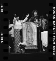 Catholic Charismatic Movement service in East Los Angeles
