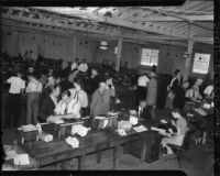 Japanese immigrants register as Los Angeles residents