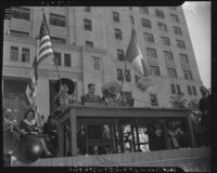Henry Agard Wallace speaks on Mexican Independence Day