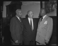 Ashley L. Totten, George Meany, and Randolph A. Philip