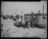 Returning evacuated Japanese Americans