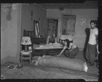 Wartime housing in Little Tokyo's Bronzeville, Los Angeles, 1943
