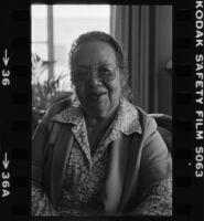 Marnesba Tackett, portrait
