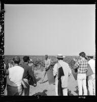 United Farm Worker's strike in Delano, 1965