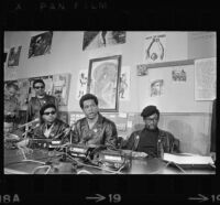 Black Panthers press conference