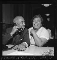 Los Angeles City Councilman Gilbert Lindsay and his wife, Ann Lindsay