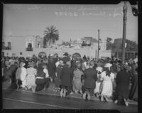 Corpus Christi Festival at Plaza Church, Los Angeles, 1942