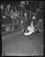 Dancing the jitterbug