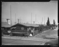 Japanese homes on Terminal Island (Calif.)
