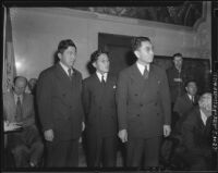 Members of the Japanese American Citizens' League