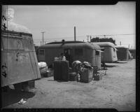 Temporary Japanese post-war housing