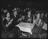 Kenny Washington and friends celebrate New Year's Eve, 1938