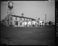 Border crossing at Mexicali-Calexico (Mexico), 1950