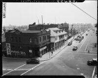 Street scene of Old Chinatown, Los Angeles (Calif.)