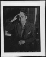 Luis Verdusco, seated portrait