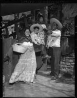 Hernandez family participates in Los Angeles' 166th anniversary celebration, 1947