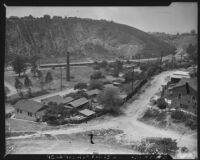 Hillside view of Chavez Ravine, Los Angeles