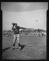 Kenny Washington on Spaulding Field at UCLA, Los Angeles, 1936-1939