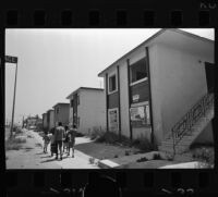 Abandoned apartments in Watts, Los Angeles (Calif.)