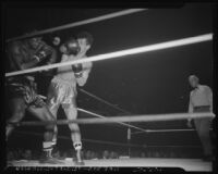 Boxing, Art Aragon vs. Bobby Campbell