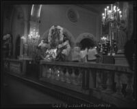 Altar of Plaza Church, Los Angeles, 1942-1952