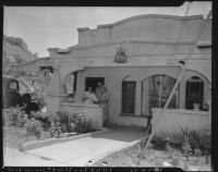 Home in Chavez Ravine, Los Angeles, 1953