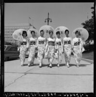 Nisei Festival Week Queen contestants, Los Angeles, 1966