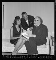 Leslie Uggams and Ricardo Montalban, Los Angeles, 1965