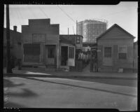 Los Angeles slums in the Great Depression
