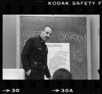 Captain Joe Sandoval, Los Angeles Police Department