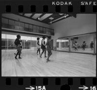 Dance class at the Watts Neighborhood Center