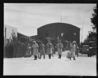 Japanese cannery workers on Terminal Island (Calif.)