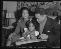 Henry Armstrong and his family, circa 1937