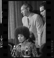 Angela Davis and Professor Donald Kalish, Los Angeles, 1969