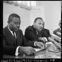 Martin Luther King, Jr. and Ralph Abernathy