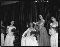 Nisei Week Festival Queen, Little Tokyo, Los Angeles, 1950
