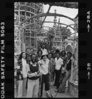 John Outterbridge and the staff of the Watts Towers Arts Center