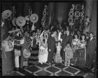 Los Angeles celebrates 161st anniversary, 1942