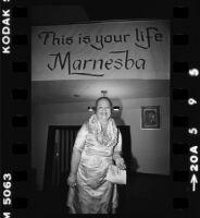 Marnesba Tackett honored at retirement reception, Los Angeles (Calif.)