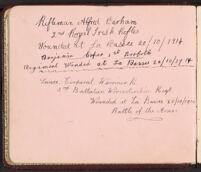 Autograph album no. 1