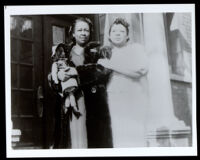 Two African American women in Bessie Coleman's family, 1920s