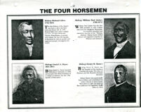 Romance of African Methodism: The Four Horsemen