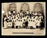 Golden State Council & Juveniles 123 A. U. K. & D. of A. at the First A.M.E. Church, Los Angeles,1914