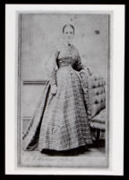 Elizabeth Scott (Clark) Towns, second wife of William E. Towns, circa 1885-1900
