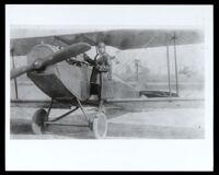 Bessie Coleman, African American airplane pilot, Los Angeles, 1920-1926