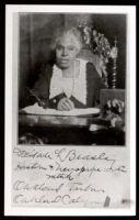 Delilah Beasley, circa 1919