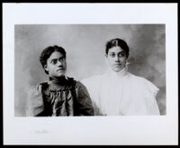 Nella and Eva Allensworth, circa 1900