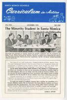 Santa Monica Schools staff newsletter, Curriculum in Action Vol. 2 No 1 (1970)